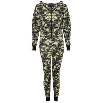 View Item Camo Print Pyjama Onesie